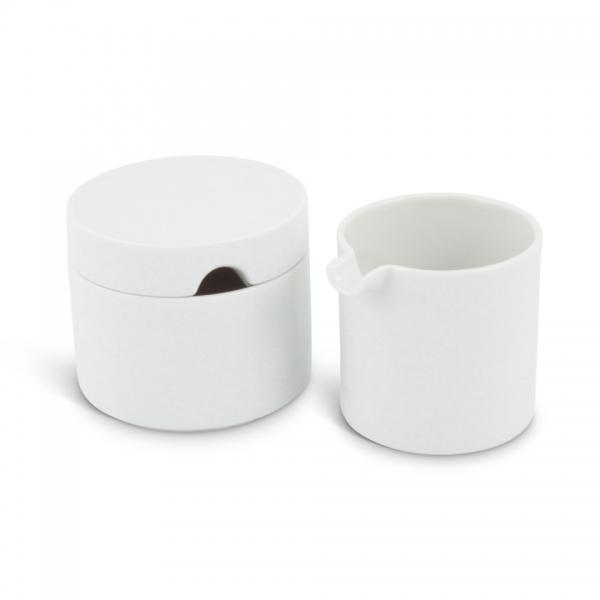 Kaffee-Set 2tlg. Revival Weiß