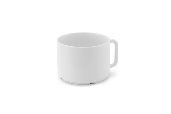 Tasse für Milchkaffee Obere Revival Designergeschirr Friesland Porzellan