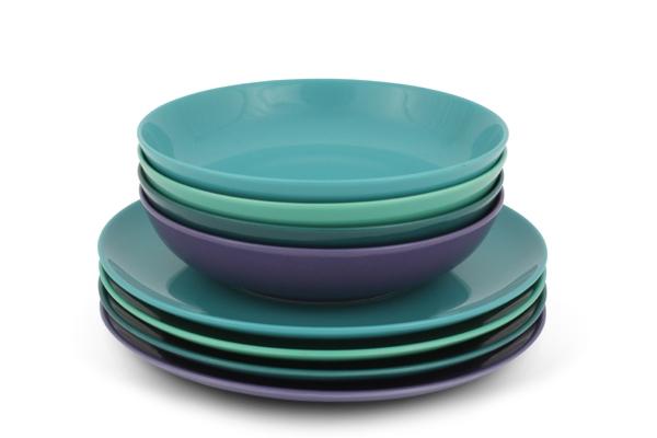 Trendmix Meeres Farben Bunt Tafel-Set von Friesland