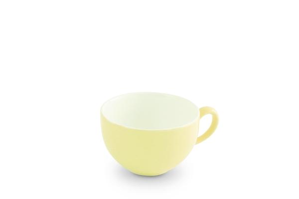 Tasse Pastellgelb Weiss Trendmix Friesland Porzellan