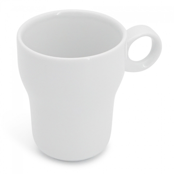 Becher, 0,33l Modern Classic Weiß