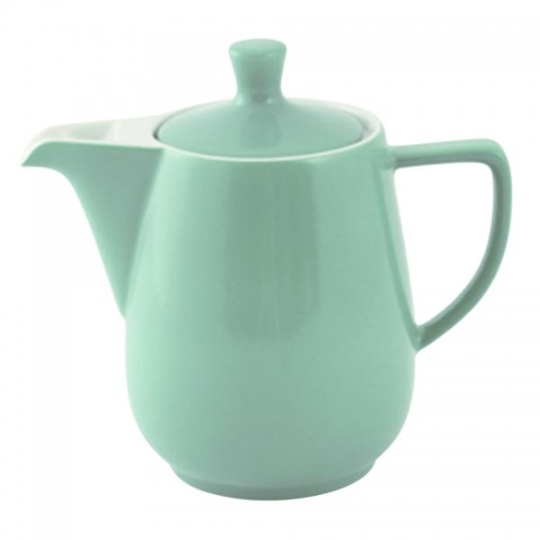 Kaffeekanne 0,9l Jadegrün Friesland Porzellan