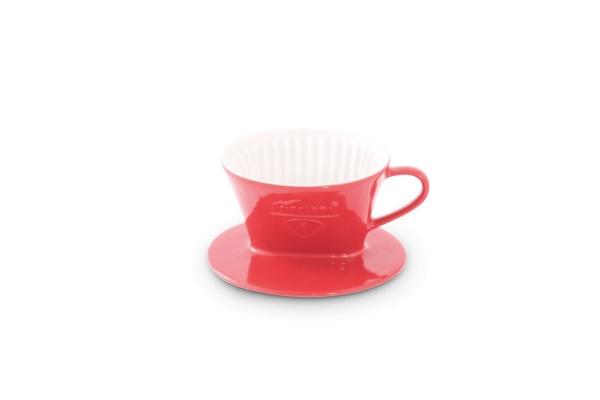Melitta Kaffeefilter Rot Friesland Porzellan 100