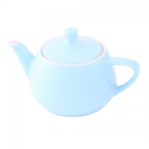 Teekanne 0,35l Pastellblau Friesland Porzellan