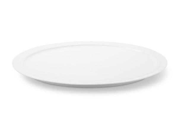 Tortenplatte Jeverland Weiß Friesland Porzellan