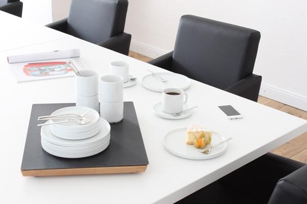 Kaffee-Set 18tlg. Revival Weiß