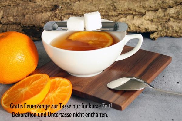 Tee- Obertasse 0,18l Chai Weiß