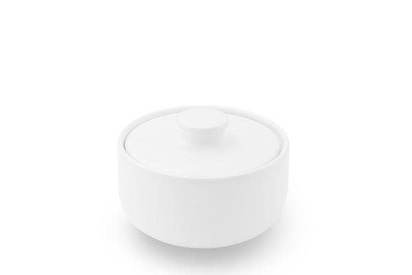 Zuckerdose Happymix Weiß Friesland Porzellan