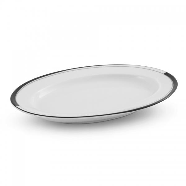 Platte 24,5cm La Belle Black & White