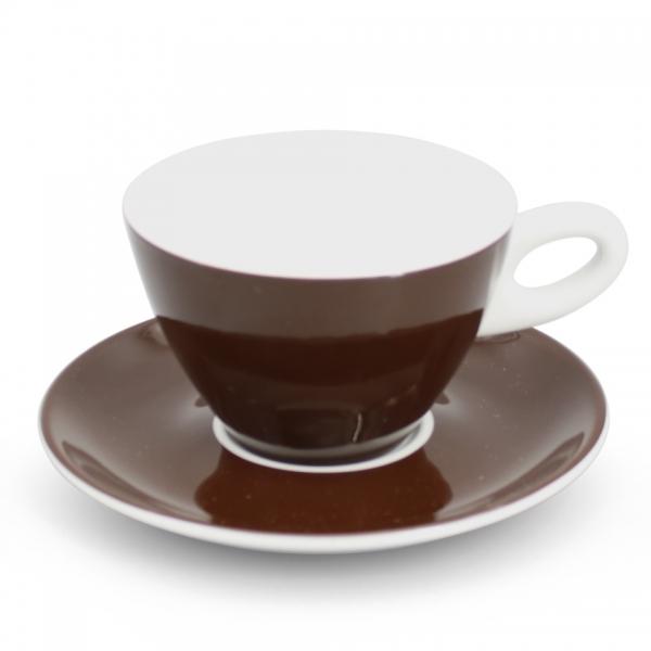 Milchkaffee- Set 2tlg. Alta Dunkelbraun Walküre