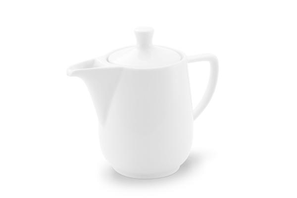 Kaffeekanne Friesland Porzellan weiß
