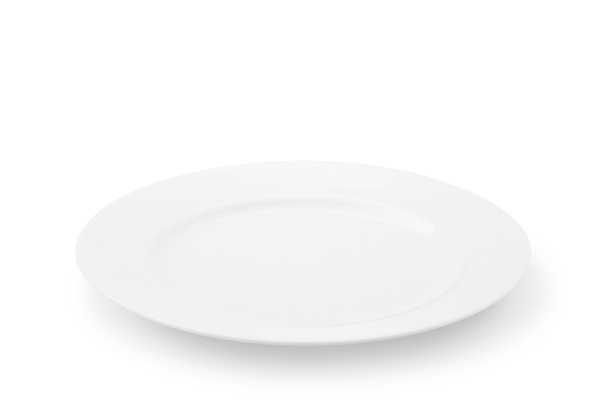 La Belle Weiß Frühstücksteller