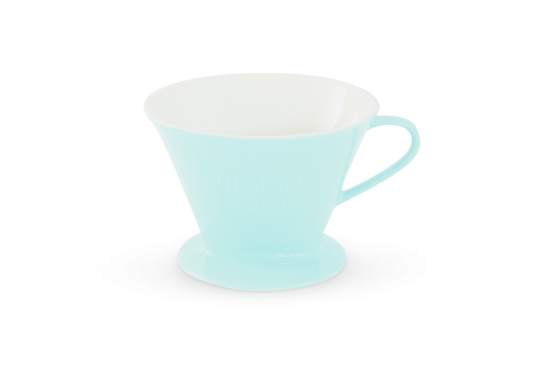 Porzellan Kaffeefilter Gr. 4 Pastellblau