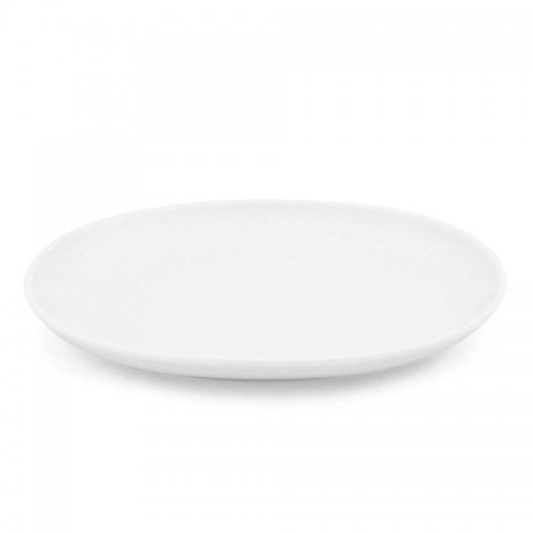 Teller oval, 17,5cm Alta Weiß
